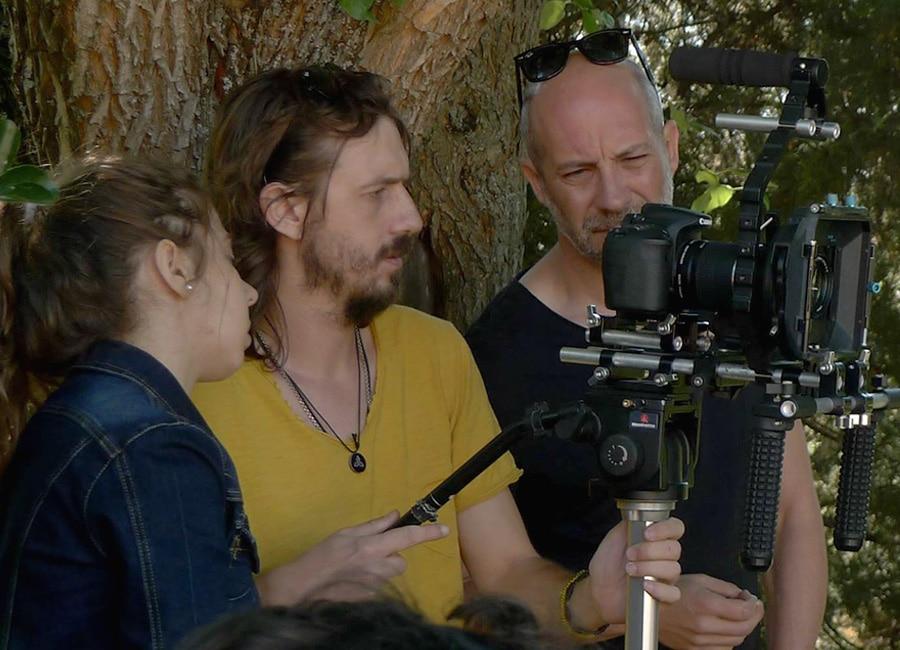entrenamiento con cámara de vídeo