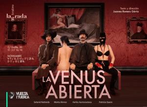 La Venus abierta tragicomedia de humor negro